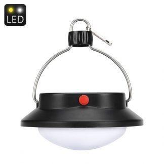 360° LED solcells-campinglykta, 5 lägen, 1200mAh, 360 lm