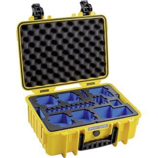 B & W outdoor.cases Typ 4000 Utomhuslåda Passar: GoPro Hero 8