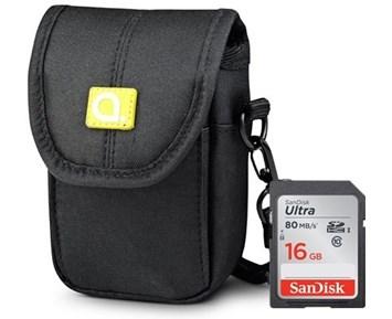 CAB 2.0 DSC 2 + SDHC Ultra 16GB