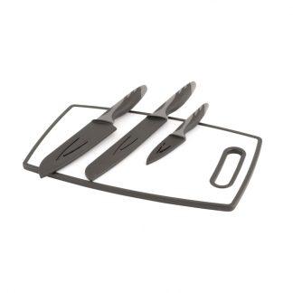 Caldas Knife Set W/Cutting Board