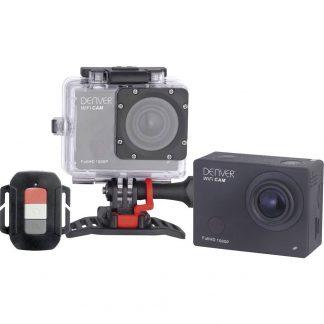 Denver ACT-8030W Actionkamera Full-HD, WLAN, Stöttålig, Dammtät, vattentät