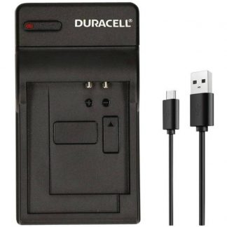 Duracell-laddare med USB-kabel för GoPro Hero 5 och 6 batteri