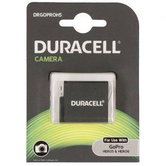 Duracell litiumjonbatteri 1250 mAh för GoPro Hero 5/Hero 6/Hero 7