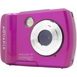 Easypix W2024 Splash Digitalkamera 16 Megapixel Rosa Undervattenskamera