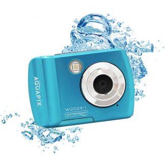 Easypix W2024Splash Digitalkamera 16 Megapixel Blå Undervattenskamera