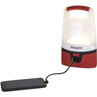 Energizer E301440800 Vision Lantern Campinglykta LED 1000 lm batteri Röd/Svart