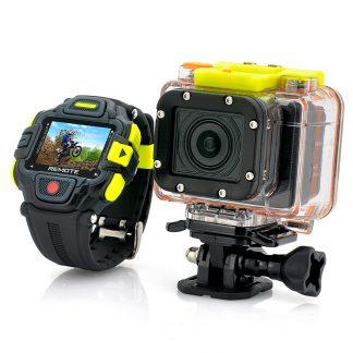 Full HD Actionkamera med WIFI fjärrkontroll, vattentät