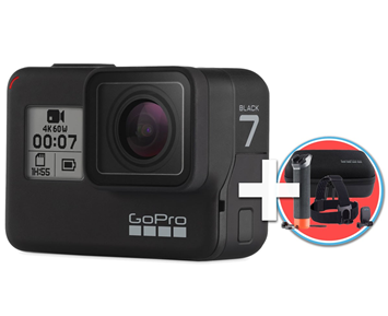 GoPro HERO7 Black + GoPro Adventure Kit