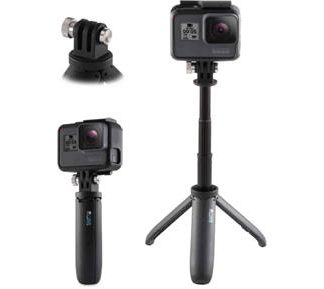GoPro Shorty Mini Ext. Pole + Tripod