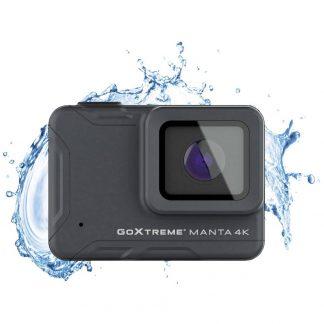 GoXtreme Manta 4K Actionkamera 4K, Ultra HD, Full-HD, vattentät, Stöttålig