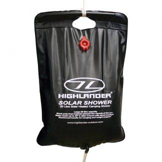 Highlander CP016 Solar Shower Camping-dusch 20 l