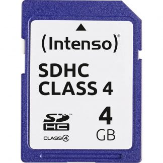 Intenso Blue SDHC-Kort 4 GB Class 4