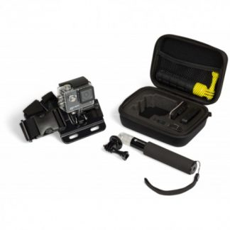 KITVISION Actioncamera KIT Case Chestm. Pole GoProadap.