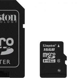 Kingston 16GB Multi Kit / Mobility Kit, microSDHC, USB, SDHC, Class 4