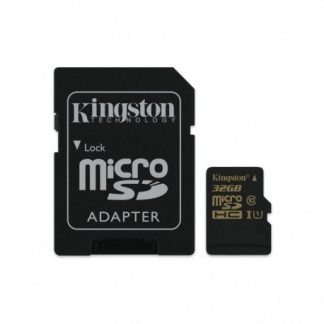 Kingston 32GB MicroSDHC Class 10 Uhs-i + Sd Adapter