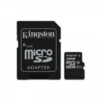 Kingston 32GB MicroSDHC Class10 Uhs-i Read Card+Sd Adapter