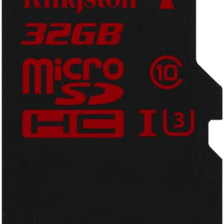 Kingston 32GB microSDHC UHS-I speed class 3 Single Pack w/o Adapter