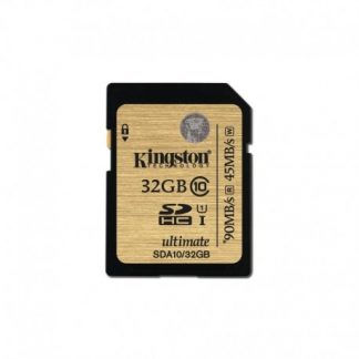 Kingston Sdhc Class 10 Uhs-i Ultimate Flash Card 32GB