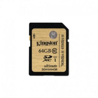 Kingston Sdhc Class 10 Uhs-i Ultimate Flash Card 64GB