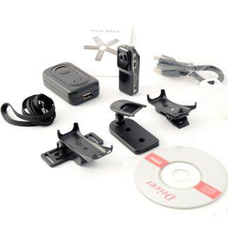 Liten Spionkamera / Sportkamera med ljudaktivering