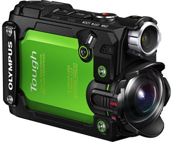 Olympus Tough TG-Tracker Green
