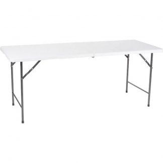 Perel folding table Campingbord Vit FP183 Last (vikt) (max) 100 kg