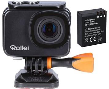 Rollei Actioncam 550 + Extra Batteri