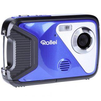Rollei Sportsline 60 Plus Bl Digitalkamera 8 Megapixel Svart Vattentät till 5 m