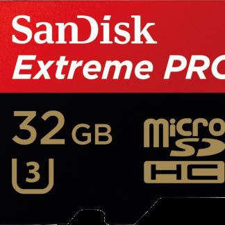 SanDisk Extreme Pro microSDHC 32GB
