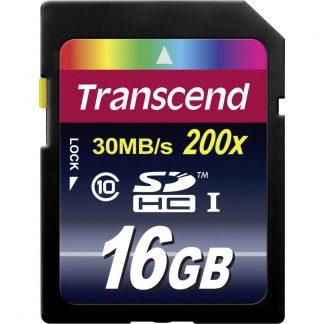 Transcend Premium SDHC-Kort 16 GB Class 10