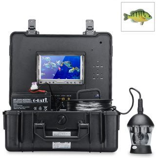 """Undervattenskamera, med roterande kamera, videoinspelning, 7"""" färgskärm"""