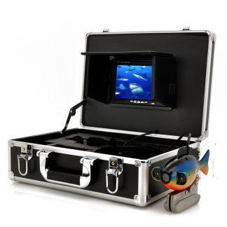 Undervattenskamera med väska och 7 tums LCD skärm (20m djup)