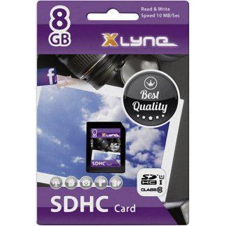 Xlyne 7308000 SDHC-Kort 8 GB Class 10, UHS-I